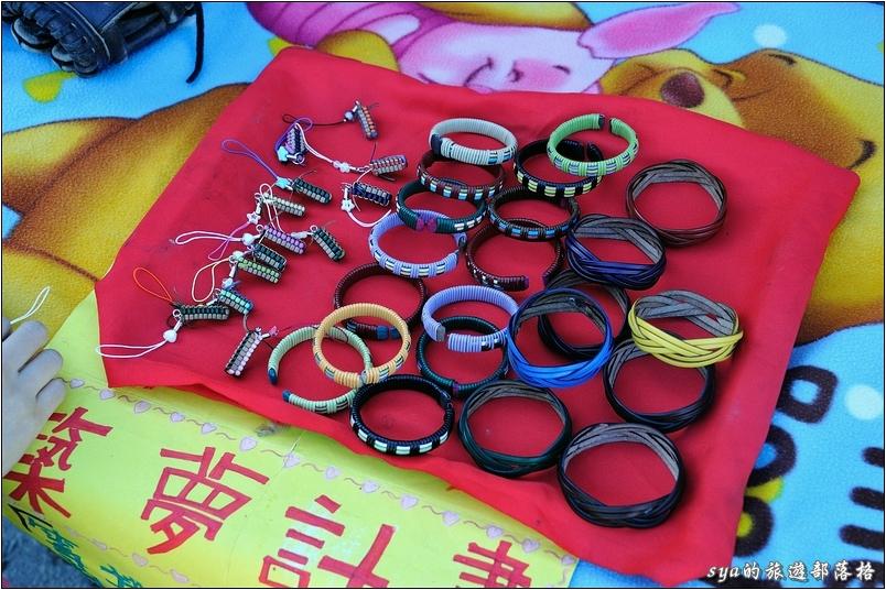 小朋友親手製作的築夢手環